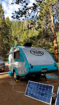 Campsite and solar