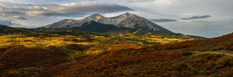 Mt. Sopris Panorama